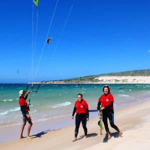 alumnos curso kitesurf 2